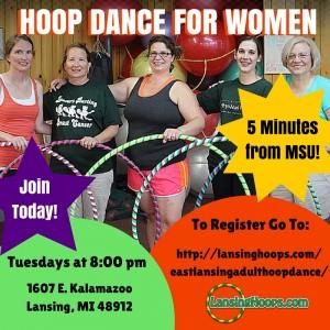 East Lansing Hoop Dance Class