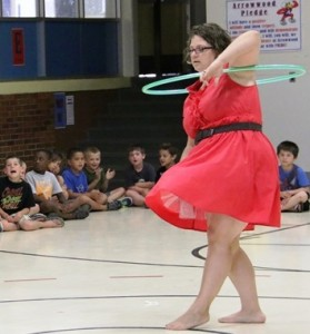 Missy Cooke - Hoop Dance Assembly