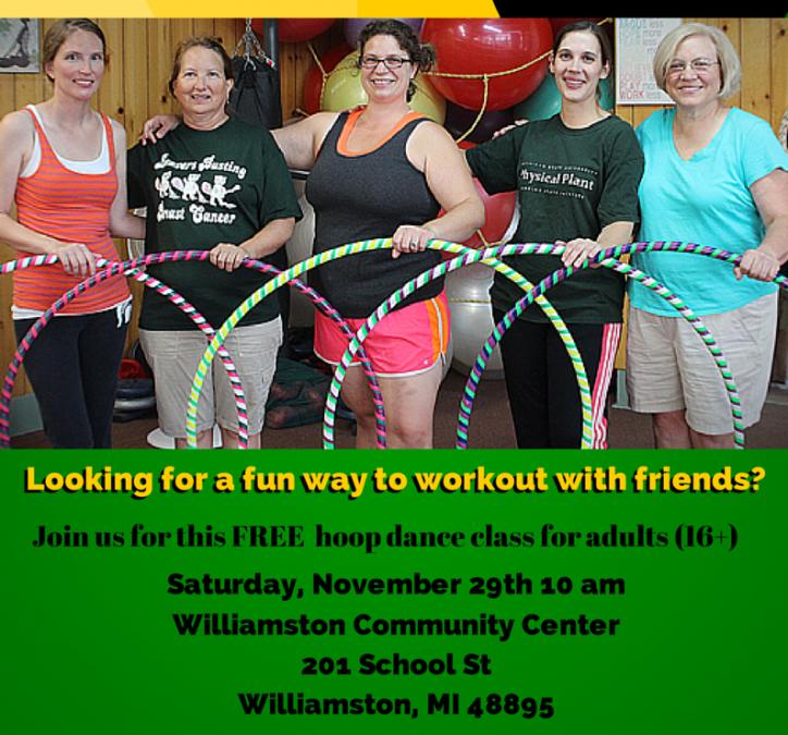 FREE Hula Hoop Dance Class – Open to the Public!
